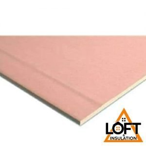 Knauf Fire Panel Tapered Edge Plasterboard - 2.4m x 1.2m x 12.5mm | LoftandInsulation